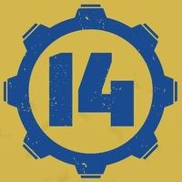 Логотип Убежище 14 / Комиксы во Владивостоке