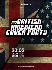 My British American Cover Party * 20.02