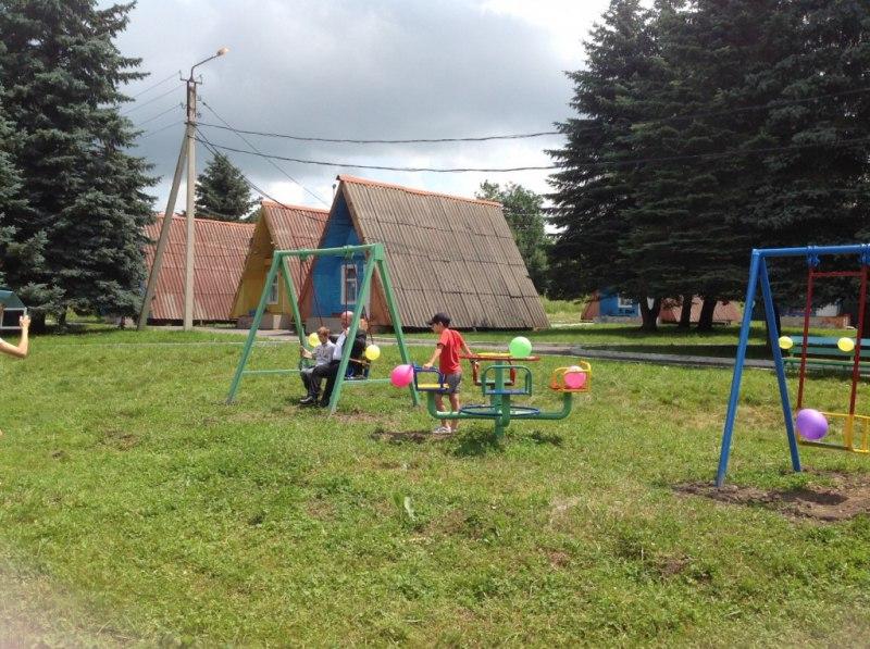 Даусузская «Сосенка» и школа-интернат села Хуса-Кардоник получили новое оборудования для детей