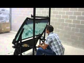 Лобовое стекло против автомата Калашникова