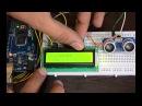 Ultrasonic Distence Sensor HC-SR04, LCD 16x2 and Arduino