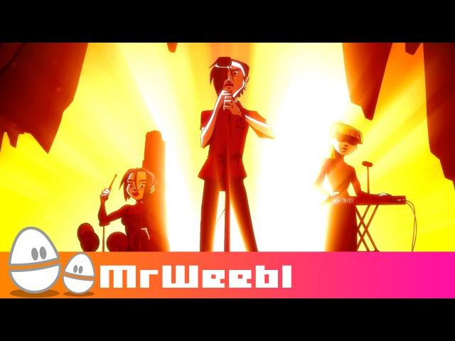 Spelunker : Savlonic : Red Album : animated music video : MrWeebl