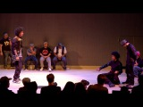 LES TWINS vs KNUCKLE NECK TRIBE City Dance Live Battle at SF Jazz