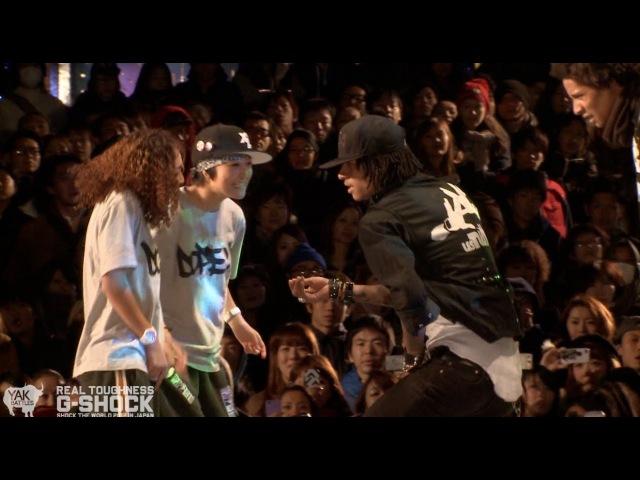 「RUSHBALL」vs「LES TWINS」G-SHOCK REAL TOUGHNESS Japan 2012 | YAK FILMS