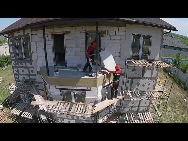 PIR плиты революционная разработка для утепления штукатурных фасадов