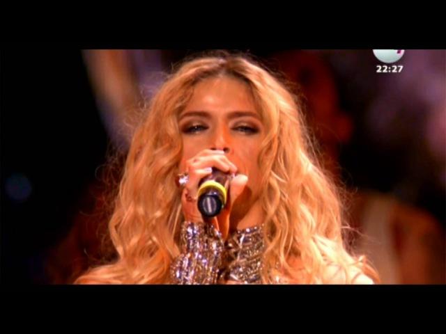 Премия Ru TV 2014 Вера Брежнева - Доброе Утро (Живой звук)