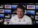 John Carver says he's the best coach in the Premier League