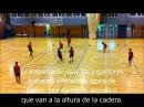 Ejercicio pases Futbol sala Voleibol
