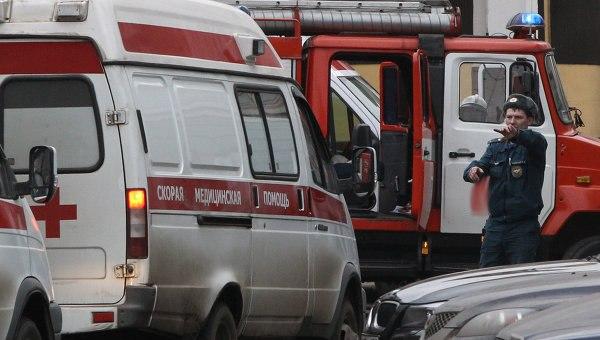 В Таганроге при тушении пожара в офисном здании найден обгоревший труп неизвестного