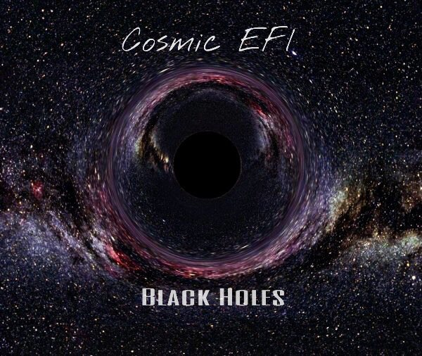 Cosmic EFI - Black Holes