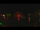 Хабаровск. Лазерное шоу на прудах.