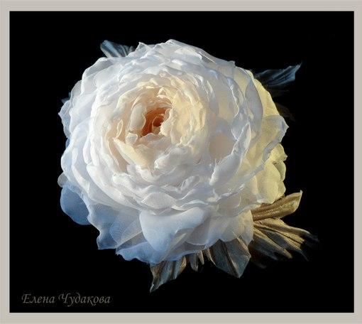 МК и идеи (цветы из ткани,