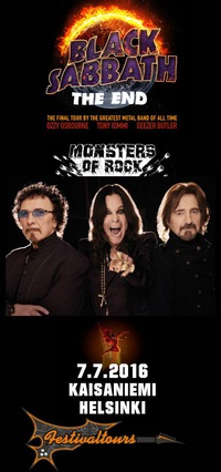 Black Sabbath Хельсинки 07.07.16 Прощальный тур