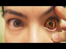 How to: Insert And Remove Flames Sclera Contact Lenses (Fxeyes)