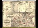 Карта походов, первых четырёх Ханов, Чингизова дома, Map campaigns, the first four khans Chingizova