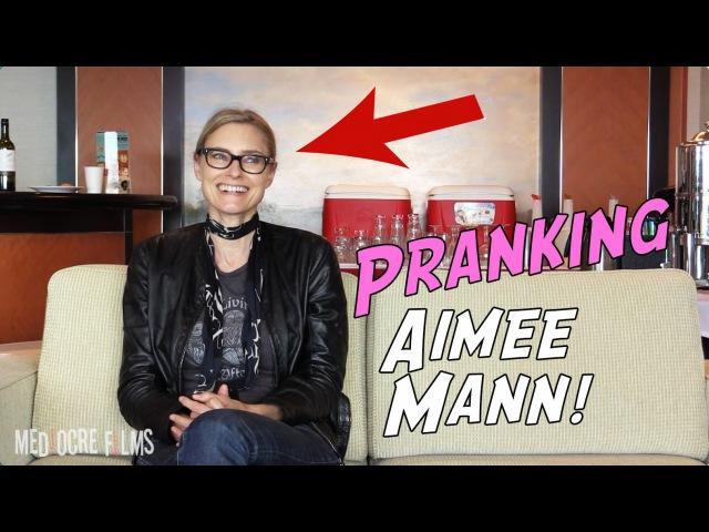 MediocreFilms - Pranking Aimee Mann!