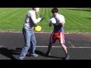Бокс тренеровка(Boxing training) Тимур