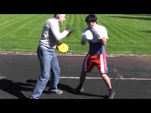 Бокс тренеровка(Boxing training) Тимур