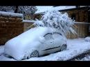 Израиль: Зимняя буря и снег в Иерусалиме. Евреи не плачут у Стены Плача, а играют в снежки :-))