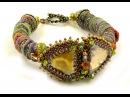 Wrapped Fiber Bracelet or Necklace Ann Benson