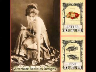 Alternate Realities Lenormand Card Deck Preview