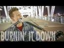 Burnin' It Down - Tyler Ward (Acoustic Cover) - Jason Aldean - Official Music Video