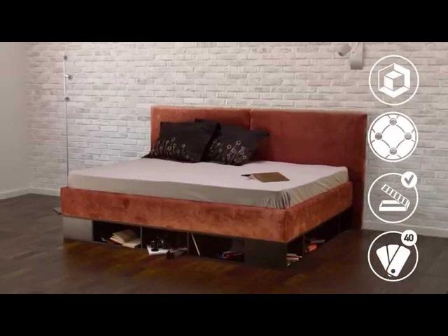 Кровать-тахта Lancaster от ОРМАТЕК - создателя лучших решений для сна!