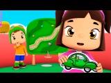 Развивающие мультики: Лелико, Виды Транспорта для детей: Машинка, Паровозик, Самолет