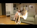 Blooper:  pervy uncle rolf with Gina Gerson & Julie Skyhigh in minidress : C.louboutin so kate 12cm