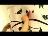 Декоративные наклейки-СТИКЕРЫ как клеить