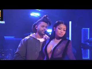 The Weeknd ft. Nicki Minaj - The Hills (Live @SNL 10.10.15)