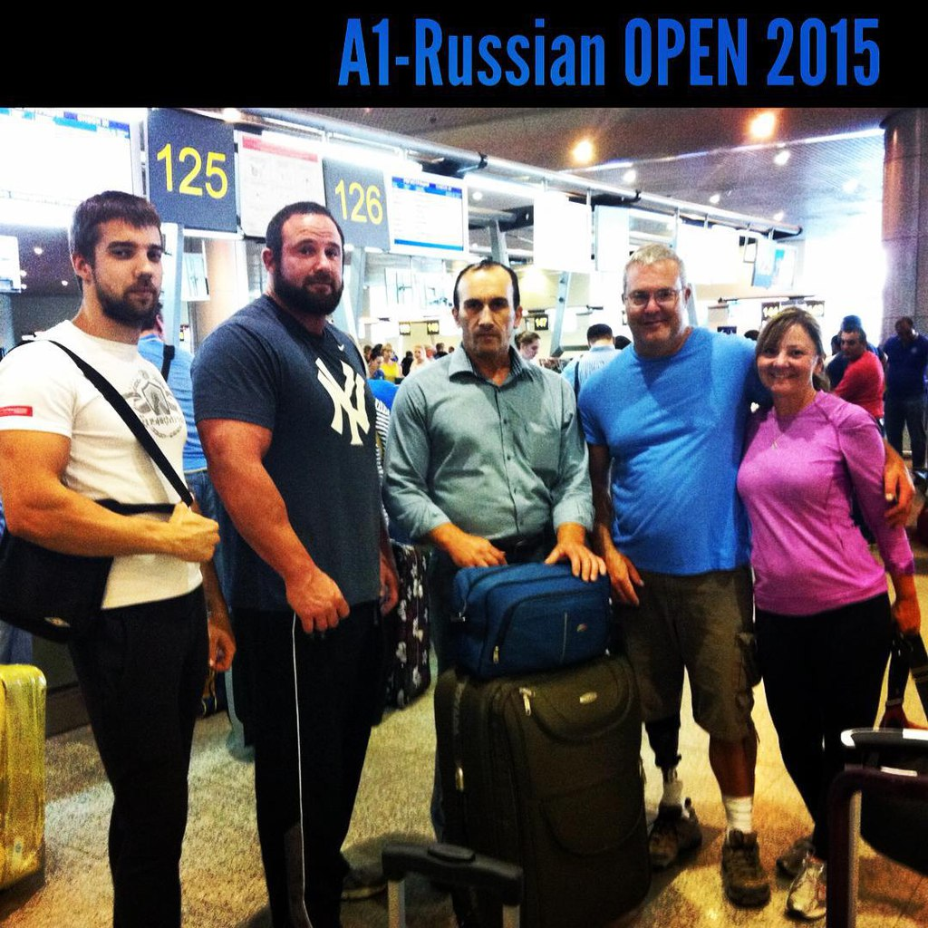 Dave Chaffee, Anatoly Skodtaev, Bob Brown before A1 Russian Open 2015 │ Image Source: Dima Kok