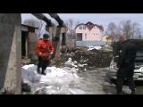 Задержание нарушителя бойцом ГБР УФССП