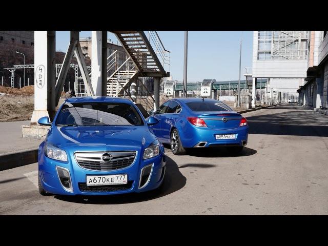 Тест драйв Opel Insignia OPC Stage2 vs Insignia OPC Stock