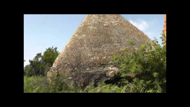 Сабурово. Орёл. Трёхгранная пирамида.