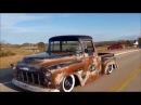 Oil Slick Teaser 1956 Slammed Chevy Pickup Shop Truck Patina Hot Rod