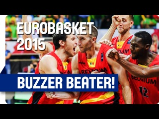 Incredible! Lojeski's Tip-In Beats Lithuania at the Buzzer! - EuroBasket 2015
