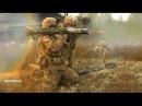 Выстрел из гранатомета AT 4 точно в цель Американские солдаты на полигоне в Литве НАТО