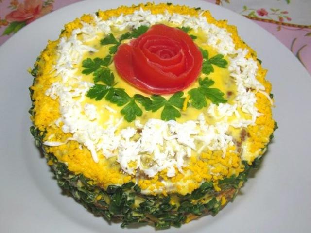 Вкусно - ПЕЧЕНОЧНЫЙ ТОРТ с Морковью и Луком Рецепт ПЕЧЕНОЧНОГО ТОРТА Закуски » Freewka.com - Смотреть онлайн в хорощем качестве