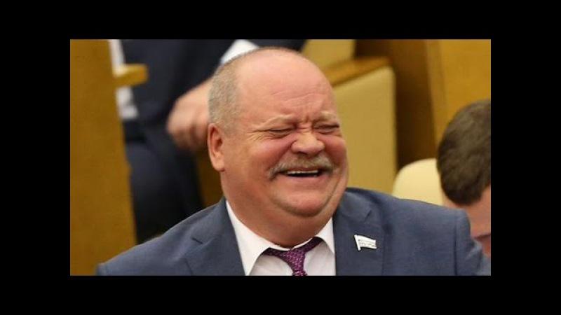 Депутат Госдумы Игорь Зотов застрял в танке