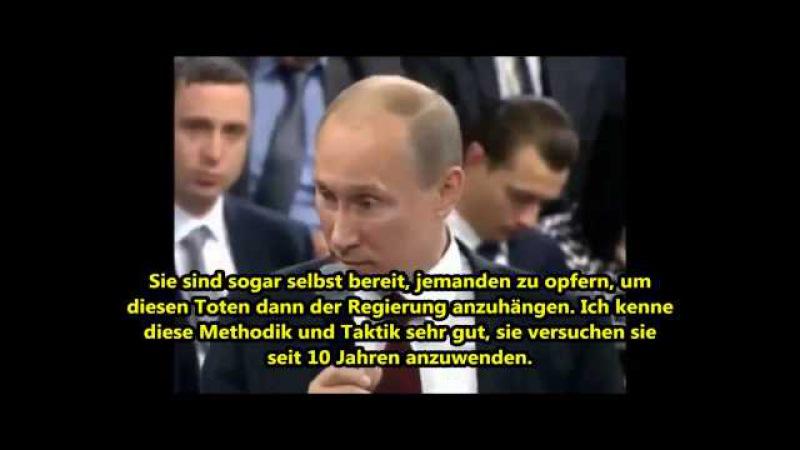 Ermordung Nemzow Putin rechnete mit einer hinterhältigen Attacke