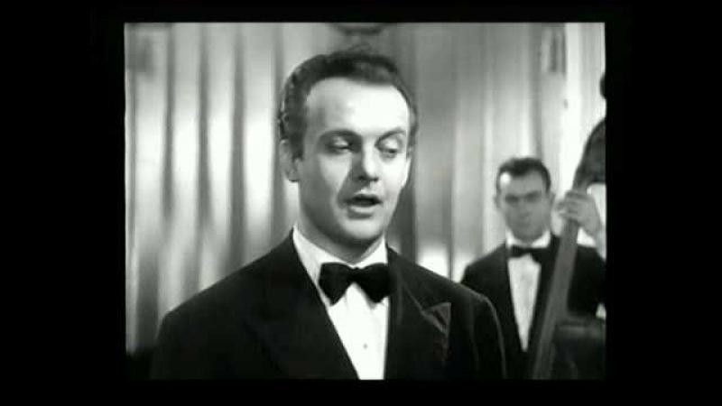 Скажите, девушки Тито Гобби с Джиной Лоллобриджидой из к ф Без ума от оперы Италия 1949 г