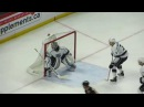 Jonathan Quick in action during the Kings @ Senators hockey game