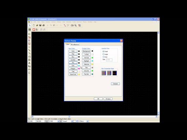 Урок 1 Настройка редактора P-CAD Schematic