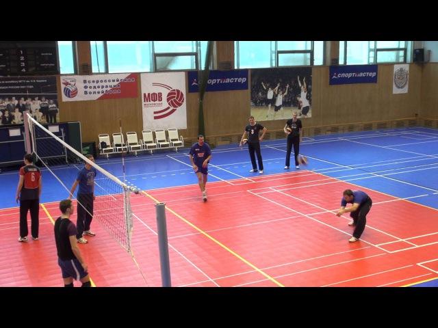2012 01 25 Волейбол. Тренировка