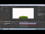 Коротко и ясно #2 Анимация колышущейся на ветру травы