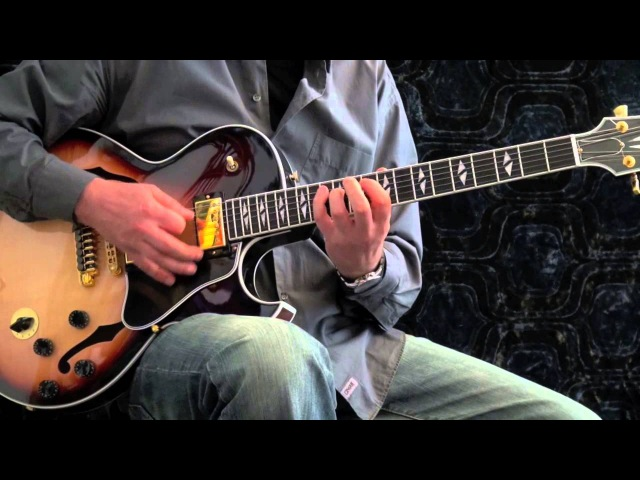 Autumn leaves - Achim Kohl - Jazz Guitar Improvisation with chord solo and tabs