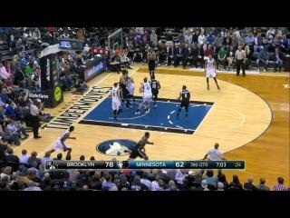 HD Brooklyn Nets vs Minnesota Timberwolves | Full Highlights | March 16, 2015 | NBA Season 2014/15