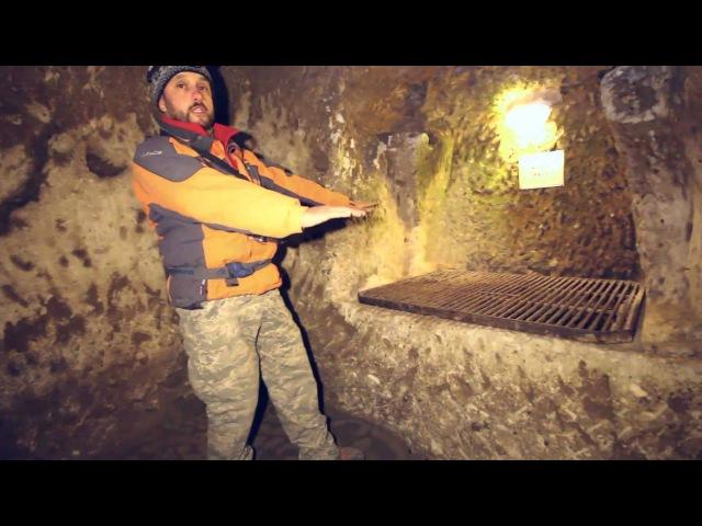 Подземный город Деринкую Турция Каппадокия