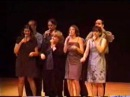 Canvas The Simpsons theme song a cappella